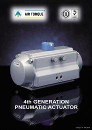 4th GENERATION PNEUMATIC ACTUATOR - VALCONTROL