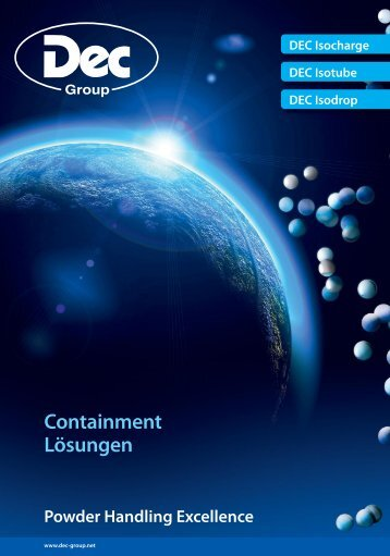 Containment Lösungen - DEC Group