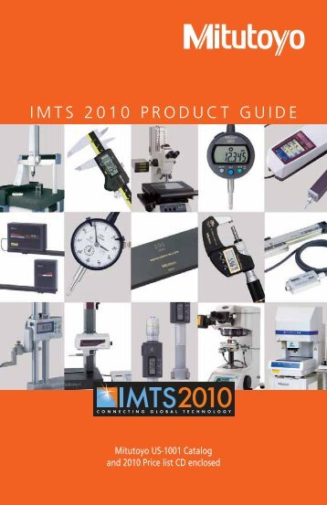 Mitutoyo New Products Guide - Mitutoyo America Corporation