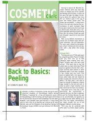 Back to Basics: Peeling - West Palm Beach Dermatologist