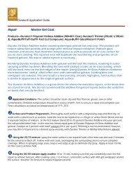 Repair Application: Marine Gelcoat