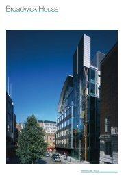 Broadwick House (PDF, 202 KB)