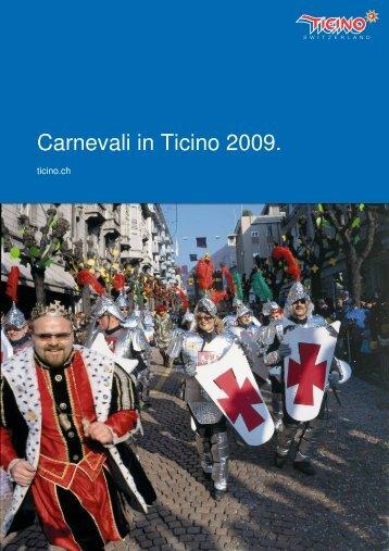 Carnevali in Ticino 2009.