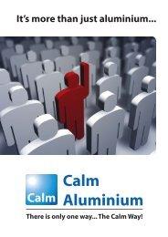 Company Brochure - Calm Aluminium