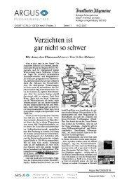 Öffnen Sie hier den gesamten Bericht als PDF - Arosa Bergbahnen