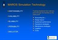 MAROS Simulation Technology