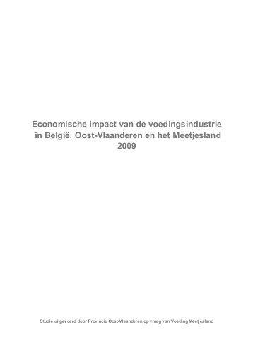 Economische impact van de voedingsindustrie in ... - Meetjesland.be