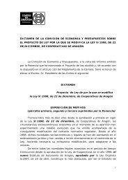 Dictamen de la Comisión - Aragon Digital