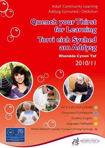 Languages - Rhondda Cynon Taf