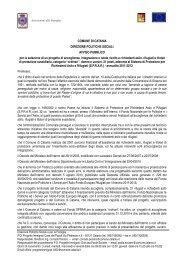 Avviso pubblico - Comune di Catania