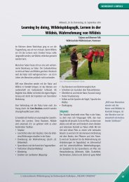 vielfalt wildnis - Nationalpark Kalkalpen