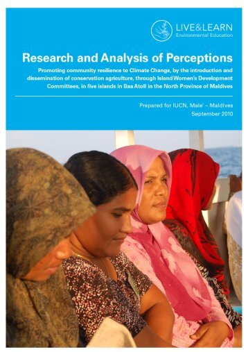 Research and Analysis of Perceptions - Mangroves for the Future