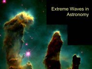 Extreme Waves: Observational Astronomy
