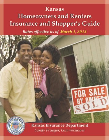 Printed Homeowners and Renters Insurance Shopper's Guide