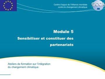 Module 5 - Global Climate Change Alliance