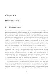 Chapter 1 Introduction - Particle Physics Group
