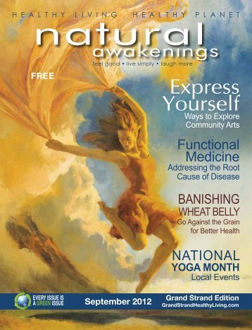 Express Your Creativity - Grand Strand Natural Awakenings