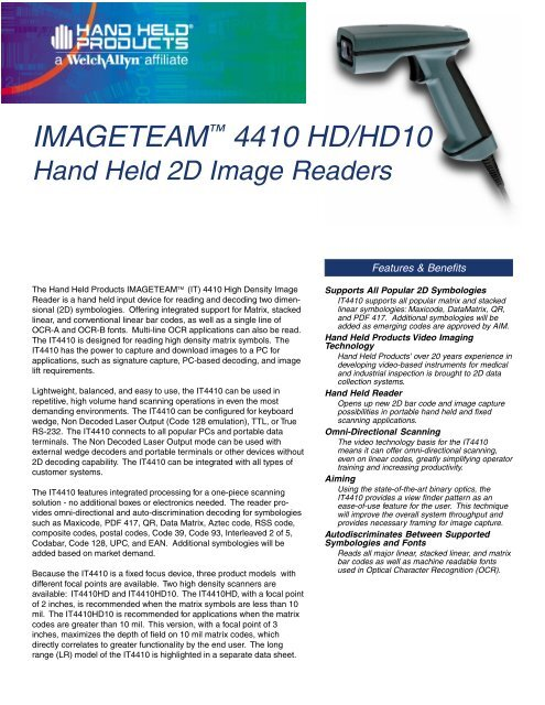 IMAGETEAM 4410 DRIVERS FOR WINDOWS 10