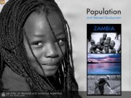 Population and National Development - Health Policy Initiative