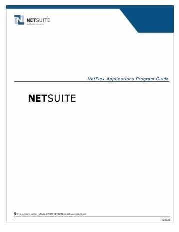 Application guide eaglelift liftgates palfinger for Netsuite document management