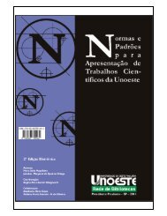 Manual Normas ABNT - Unoeste