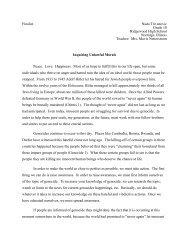 Nada Trivanovic - Illinois Holocaust Museum & Education Center