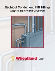 Electrical Conduit and EMT Fittings - Columbia Pipe & Supply Co.