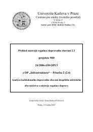 pdf (537 kb) - Centrum pro otázky životního prostředí UK - Univerzita ...