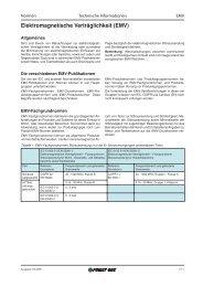 Elektromagnetische Verträglichkeit (EMV) - Armspower.com