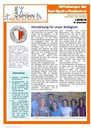 Versicherungen - Karl-Spohn-Realschule