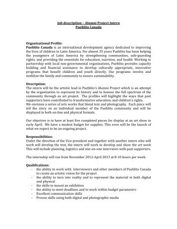 Energy Intern Job Description 8-19-09[1].Pdf - The Minnesota Project