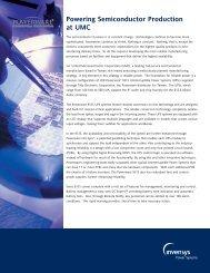 Powering Semiconductor Production at UMC