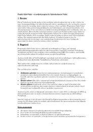 Projektbeskrivelse OplevVækst - Aalborg Kommune