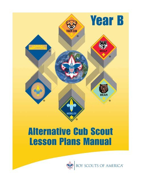 Year B Cub Scout Lesson Plans Northern Lights Council