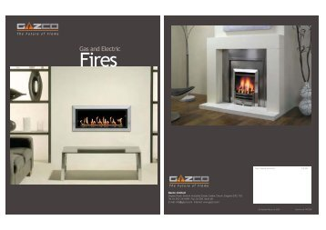 Gas and Electric Riva Cassette Fires - Lamartine Fireplaces