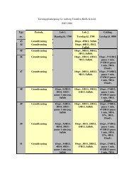 Træningsplanlægning for Aalborg Triathlon Klubs K-hold. 2005 ...