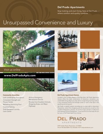 Unsurpassed Convenience and Luxury - Woodmont Apartment ...