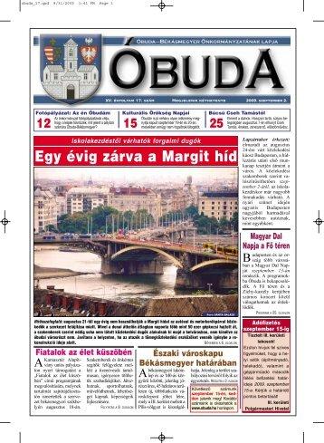 Egy évig zárva a Margit híd - Óbuda-Békásmegyer