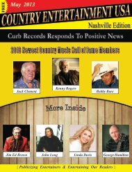 May 2013 Issue - Country Entertainment USA