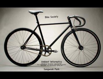 Bike Society - MIT SENSEable City Lab