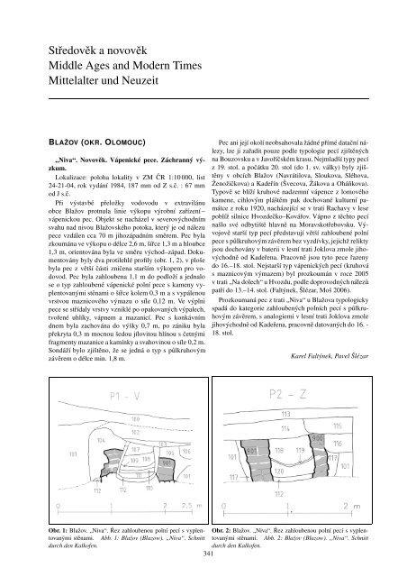 Datování skalních fosilií a geologických událostí kapitola 8