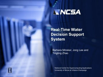 Zhao: Real-Time Water Decision Support System