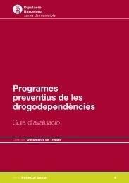 Programes preventius de les drogodependències - Hemeroteca ...