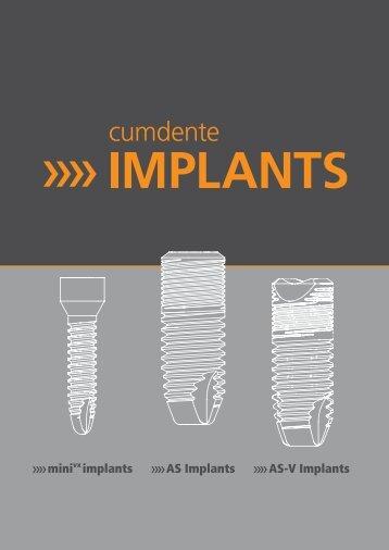 AS Implants »» minivx implants »» AS-V Implants - Cumdente