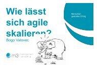 Wie lässt sich Agile skalieren? - Agile World 2013