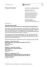 SBK PM 20130110 Karnevalssitzungen - Sozial-Betriebe-Köln