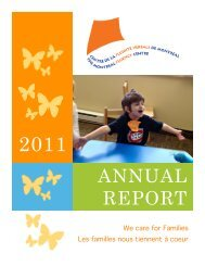 2011 Annual Report, English - Montreal Fluency