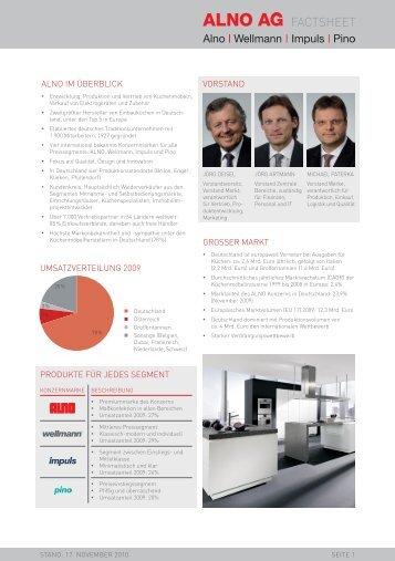 FactSheet - Alno