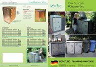 Mülltonnen-Box