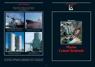 Marine Cement Terminals - Vermeulen Ingenieursbureau